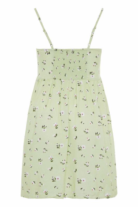 Green Ditsy Floral Strappy Dress_BK.jpg