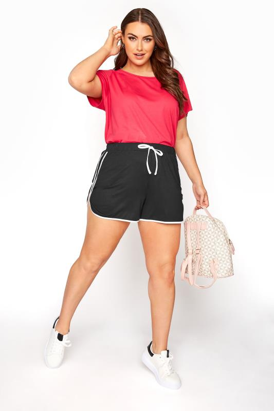 Black Side Stripe Shorts_B.jpg