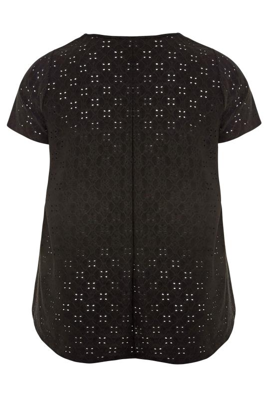 LIMITED COLLECTION Black Broderie Anglaise Swing Top_BK1.jpg