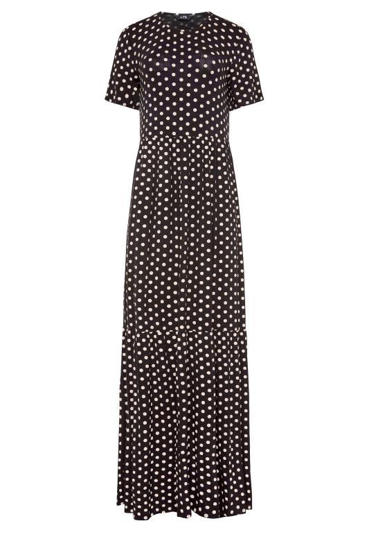 LTS Black Spot Tiered Maxi Dress_f.jpg