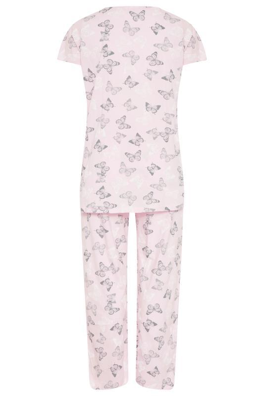 Blush Pink Summer Butterfly Pyjama Set_BK.jpg