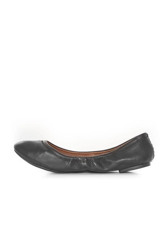 LUCKY BRAND Black Emmie Flats