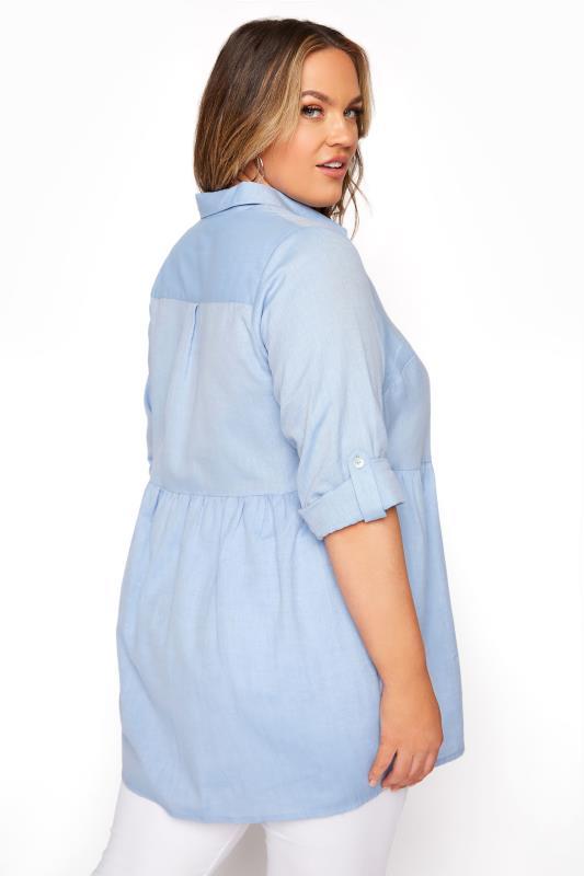 Light Blue Chambray Peplum Shirt_C.jpg