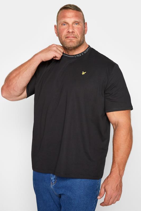 LYLE & SCOTT Black Branded Ranger T-Shirt_M.jpg