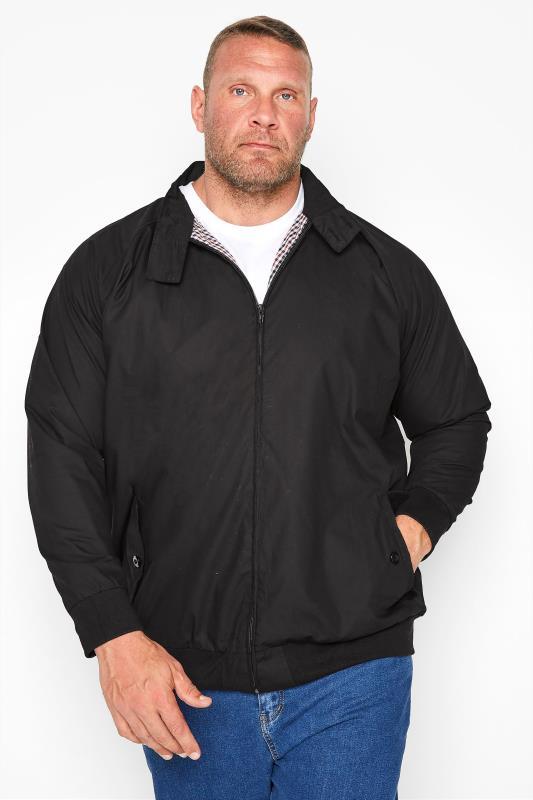 KAM Black Harrington Jacket_M.jpg