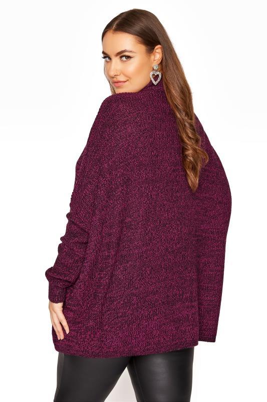 Plum Oversized Knitted Jumper_C.jpg