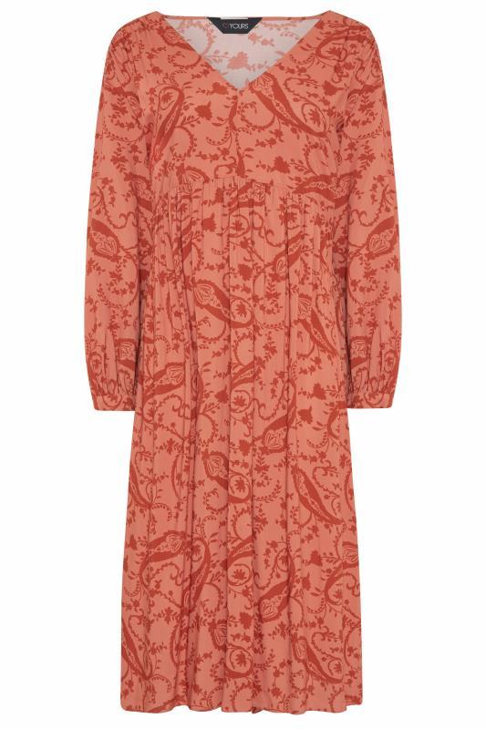 THE LIMITED EDIT Pink Paisley Boho Maxi Dress_F.jpg