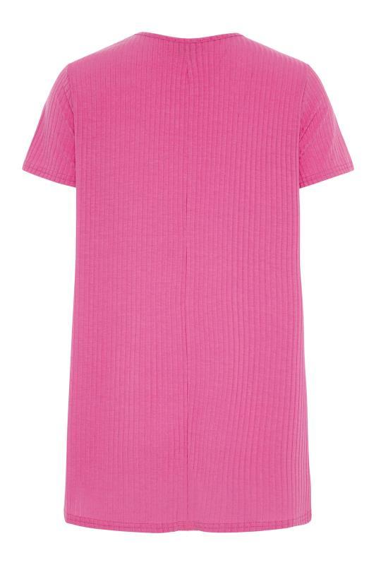 LTS Hot Pink Swing T-Shirt_BK.jpg