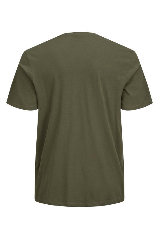 JACK & JONES Khaki Herro T-Shirt_BK.jpg