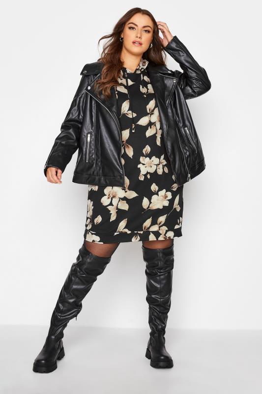 Black Floral Hoodie Dress_B.jpg