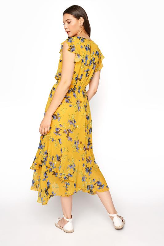 LTS Yellow Shirred Waist Chiffon Midi Dress_C.jpg