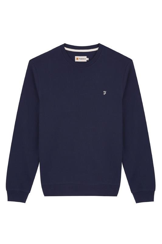 FARAH Navy Crewneck Sweatshirt_F.jpg