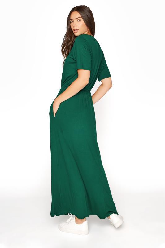 LTS Forest Green Pocket Midaxi Dress_C.jpg