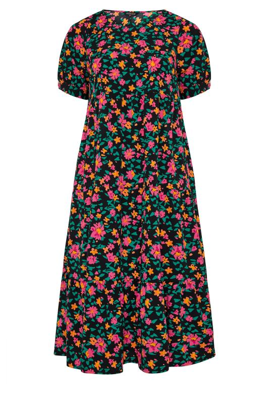 LIMITED COLLECTION Black Floral Tiered Maxi Dress_f.jpg