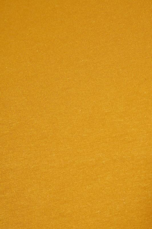Mustard Yellow Long Sleeve Scoop Neck T-Shirt_S.jpg