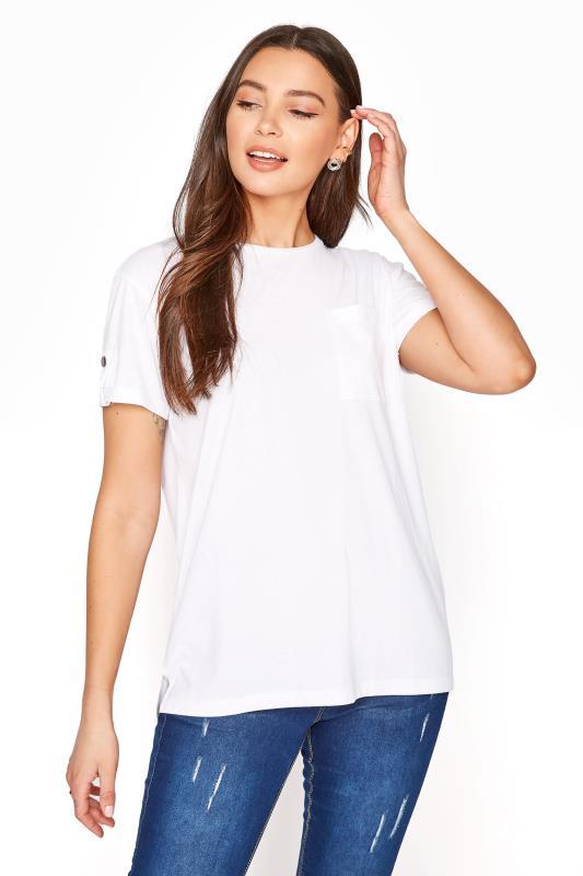 LTS White Pocket T-Shirt