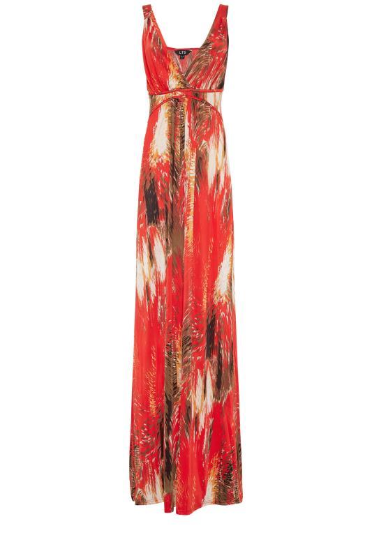 LTS Red Jersey V-Neck Maxi Dress_f.jpg