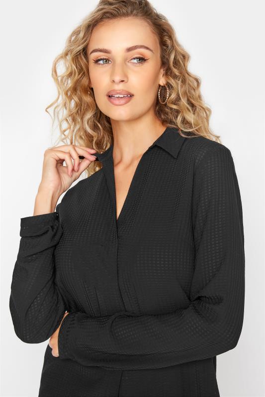 LTS Black Textured Overhead Shirt_D.jpg