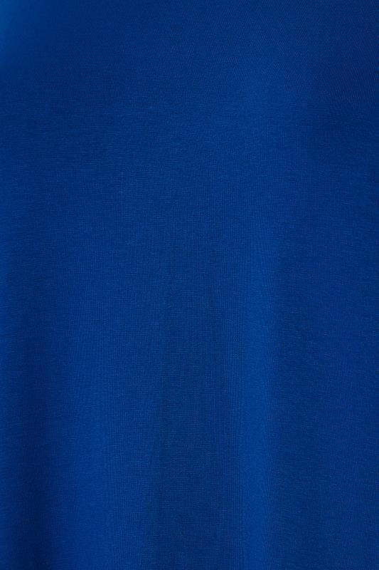 Cobalt Blue Dipped Hem T-Shirt_S.jpg