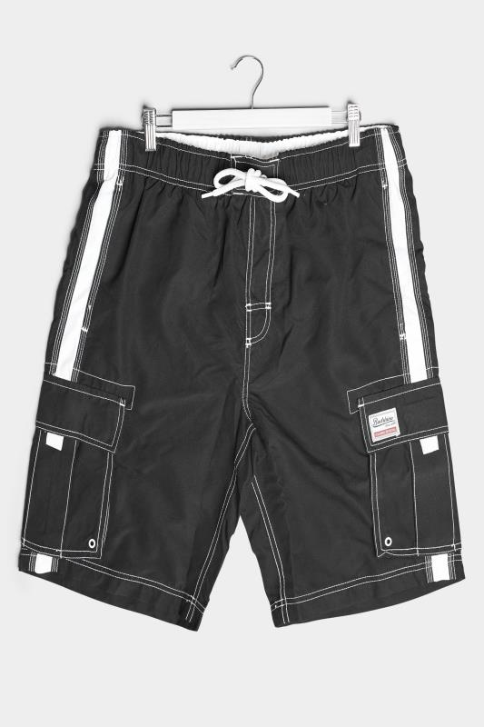 Men's  BadRhino Black Utility Cargo Swim Short