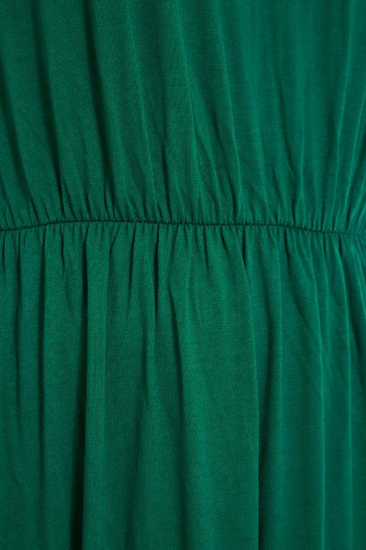 YOURS LONDON Forest Green Pocket Midaxi Dress_S.jpg