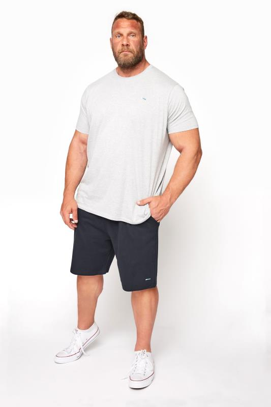 Men's Jogger Shorts BadRhino Navy Essential Jogger Shorts