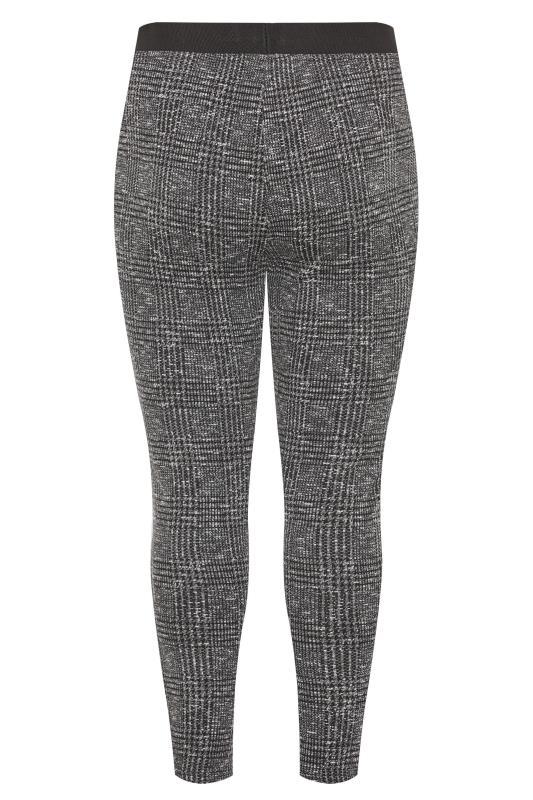 Grey Boucle Check Slim Fit Trousers_BK.jpg