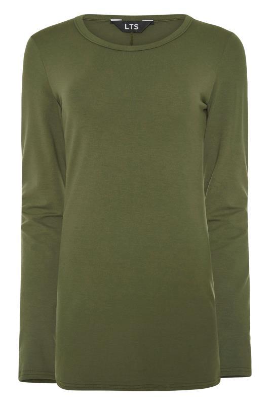 LTS Khaki Long Sleeve T-Shirt_F.jpg