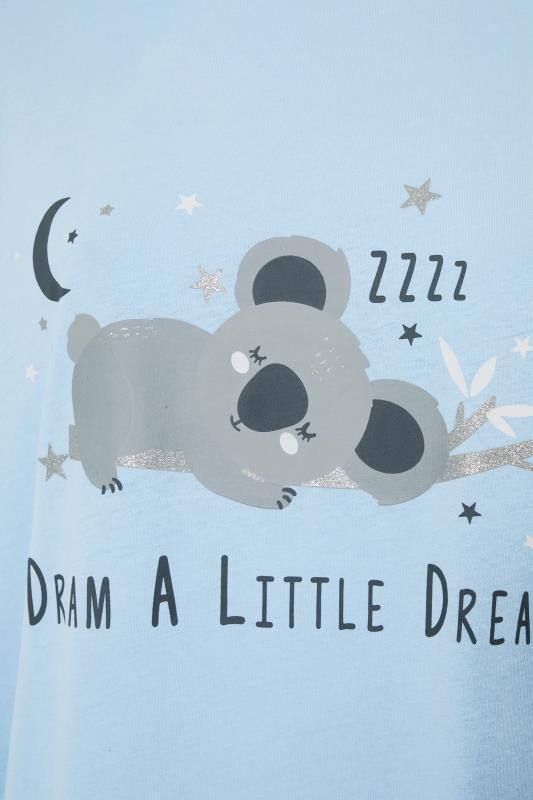 Blue Dream Koala Dipped Back Nightdress_S.jpg