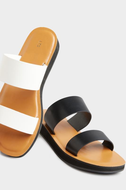 LTS Black Two Strap Flat Sandals_E.jpg