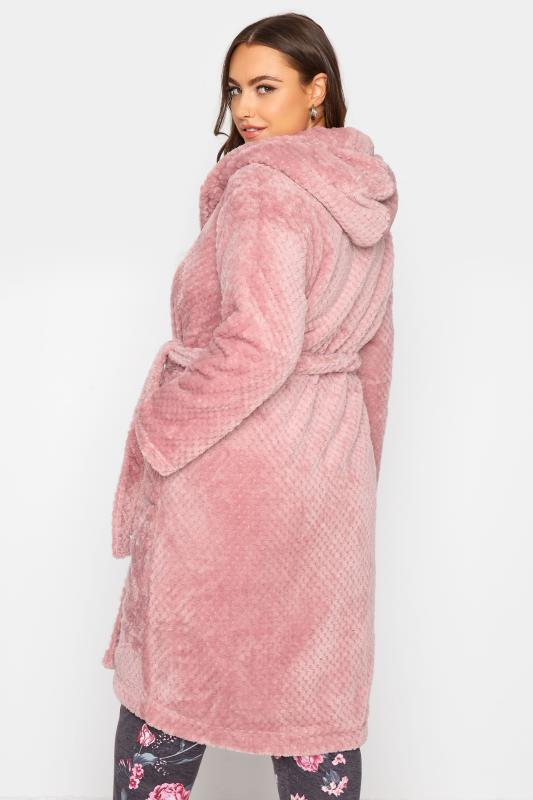 Pink Waffle Hooded Dressing Gown_C.jpg