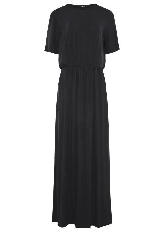 LTS Black Pocket Midaxi Dress_F.jpg