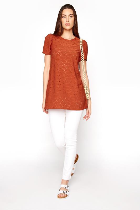 LTS Rust Broidery Puff Sleeve Top_B.jpg