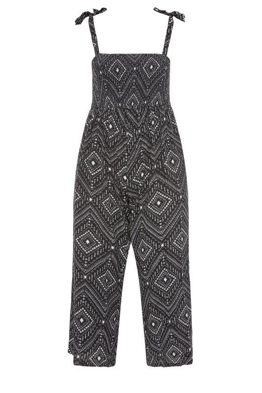 Black Aztec Shirred Bardot Jumpsuit_f.jpg