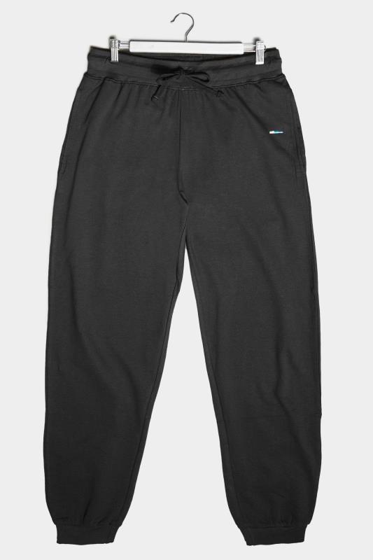 Tallas Grandes BadRhino Black Essential Joggers
