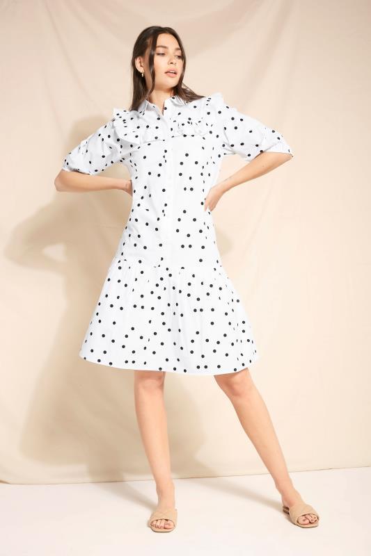 LTS White Polka Dot Puff Sleeve Dress_L2.jpg