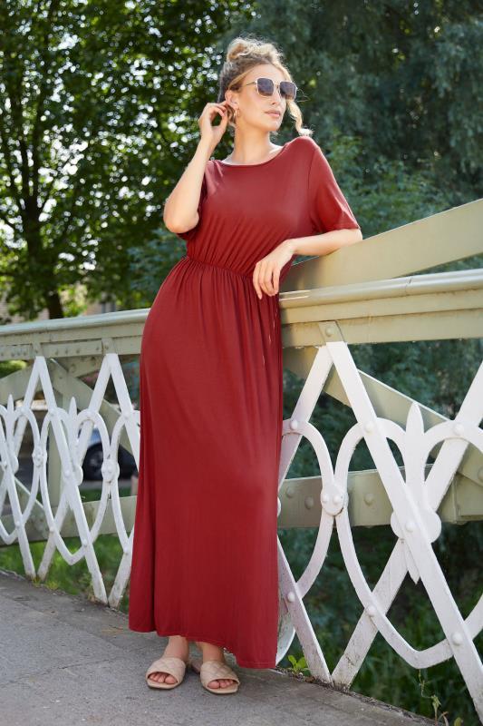 LTS Burgundy Pocket Midaxi Dress_L.jpg