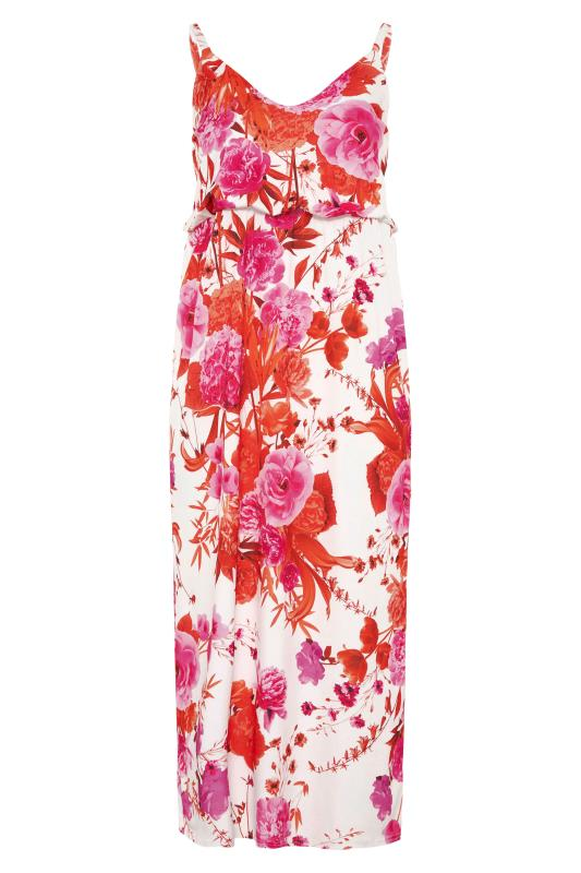 YOURS LONDON White Flame Floral Cami Maxi Dress_F.jpg