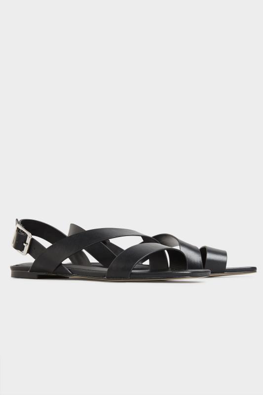 LTS Black Crossover Strap Sandals_B.jpg