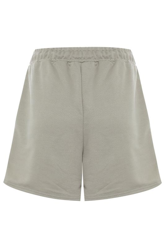 LTS Khaki Jersey Sweat Shorts_BK.jpg