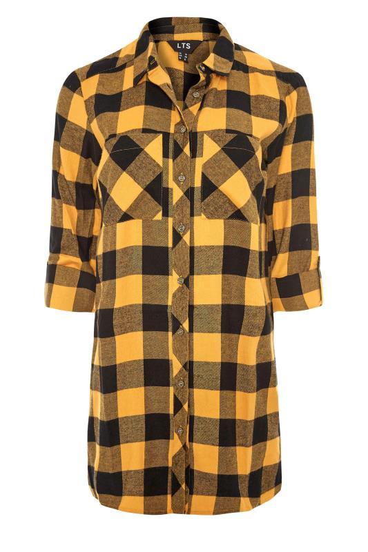 LTS Yellow Check Boyfriend Shirt_F.jpg