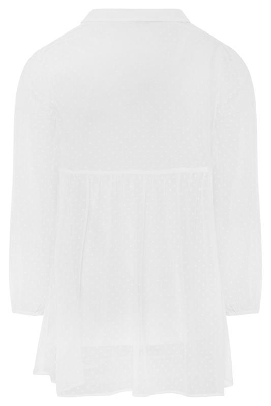 White Peplum Dobby Chiffon Shirt_BK.jpg