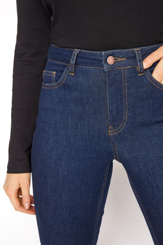 Deep Indigo Blue Ultra Stretch Bootcut Jeans_D.jpg