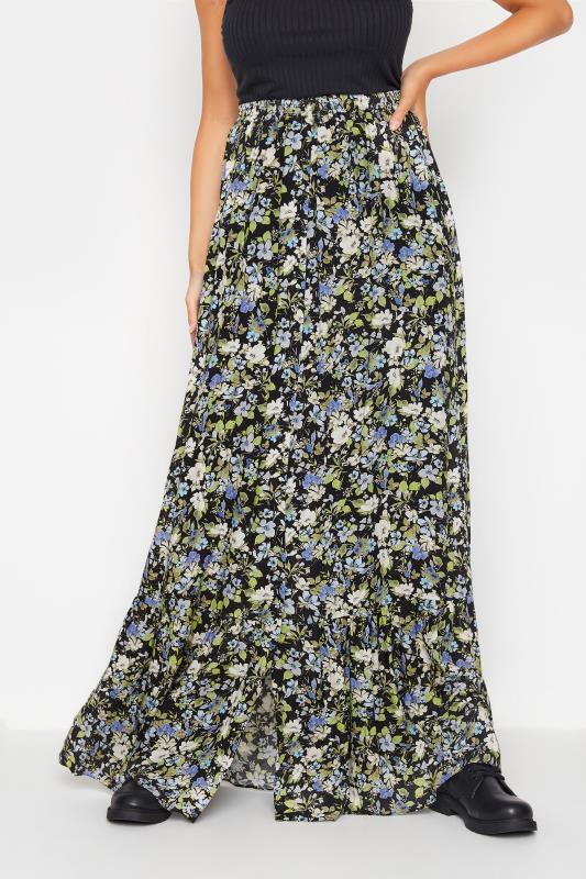 LTS Black Floral Print Maxi Skirt_B.jpg