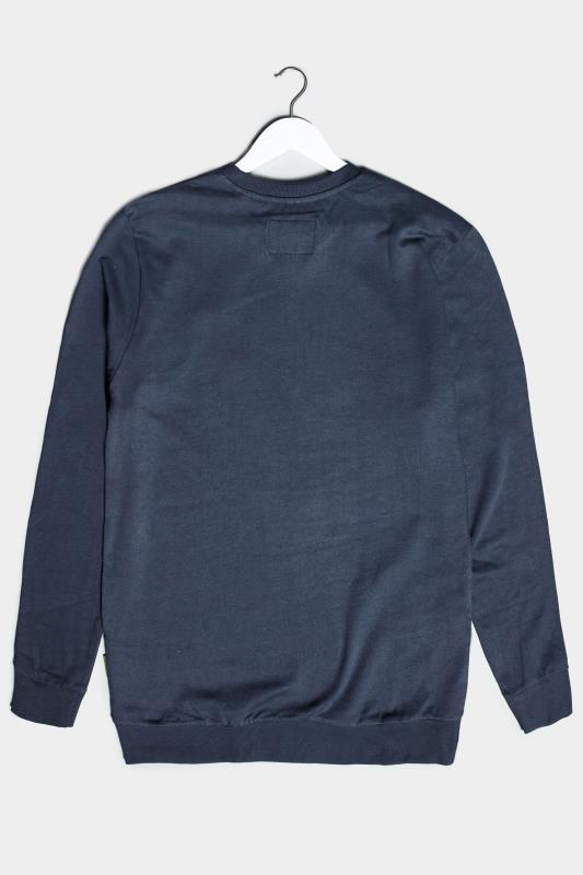 BadRhino Navy Essential Sweatshirt_BK.jpg