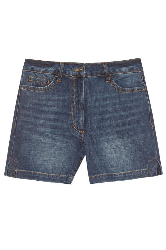 Tall  Indigo Pure Cotton Denim Shorts