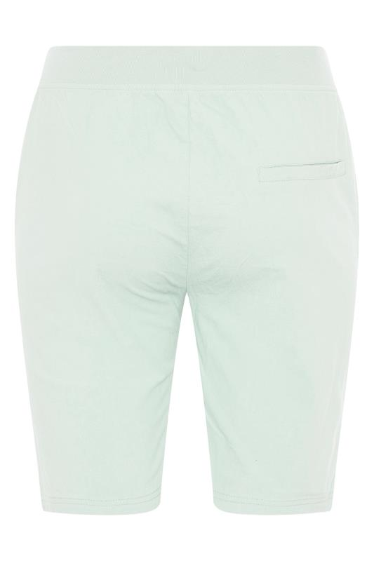 Mint Green Cool Cotton Shorts_BK.jpg