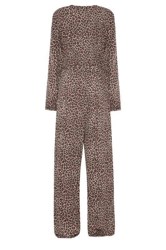 LTS Beige Leopard Print Wrap Jumpsuit_BK.jpg