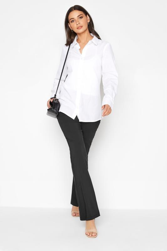 Tall  LTS Black Stretch Bootcut Trousers