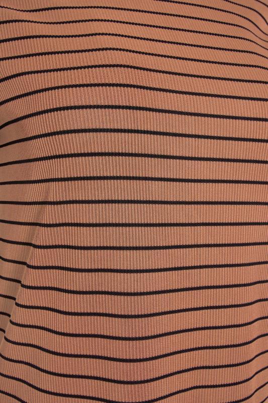LTS Rust Stripe Rib T-Shirt_S.jpg